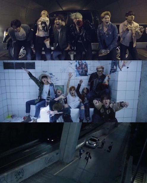 Bangtan BTS fun full group Run MV HYYH