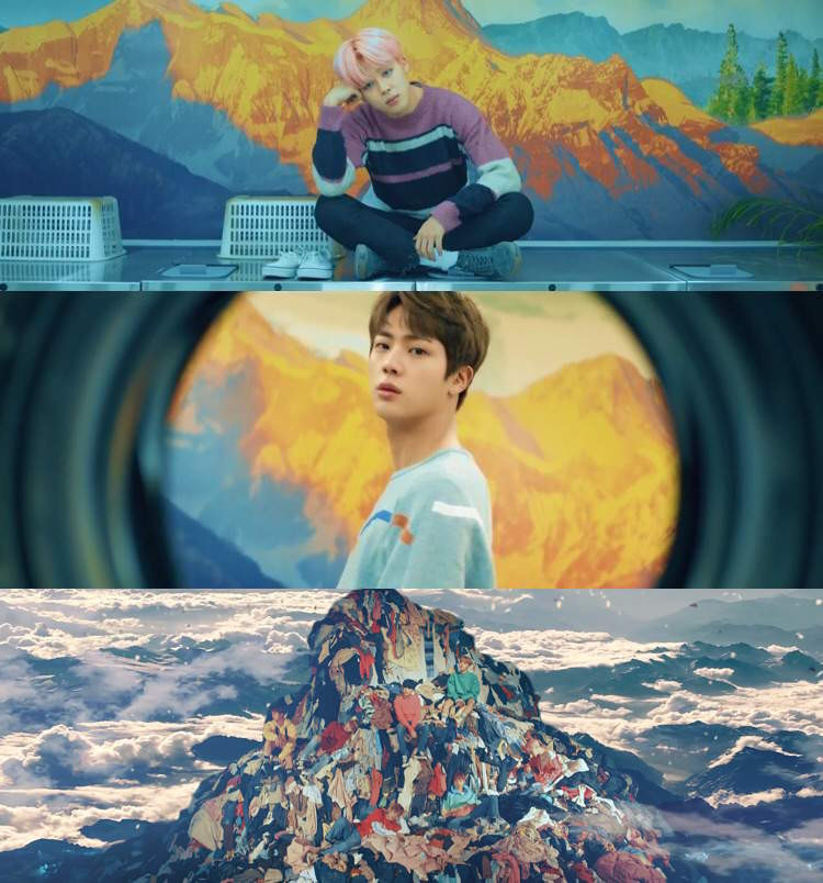 BTS Bangtan Inception film Theory Spring Day