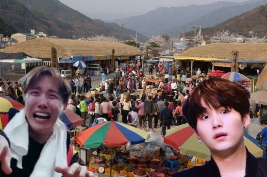 BTS Bangtan Suga Min Yoongi J-Hope Jung Hoseok Sope Yoonseok Hwagae Market Mystery