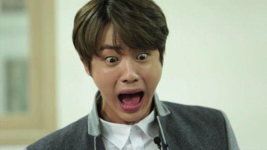 BTS Bangtan Jin Kim Seokjin Woldwide Handsome Recipe Translation Rice Cake Soup meme photo