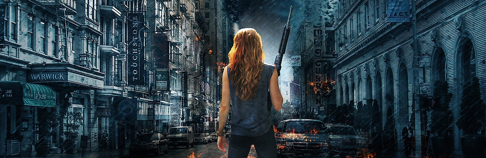 how to get a secret literary agent publishing publish your manuscript our post-apocalyptic world with a badass woman in front
