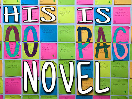 How to outline a novel using sticky notes