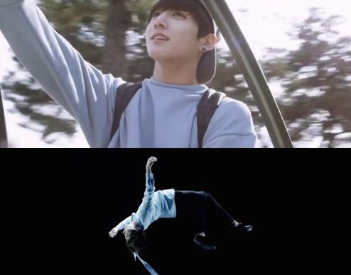 Bangtan BTS Begins Live Trilogy 2015 wings short film Jeon Jungkook flying JK merry go round floating