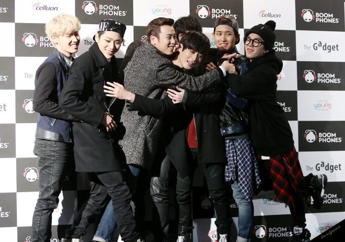 Block B group photo