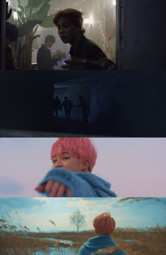 Bts Bangtan Spring Day music video Theory YNWA