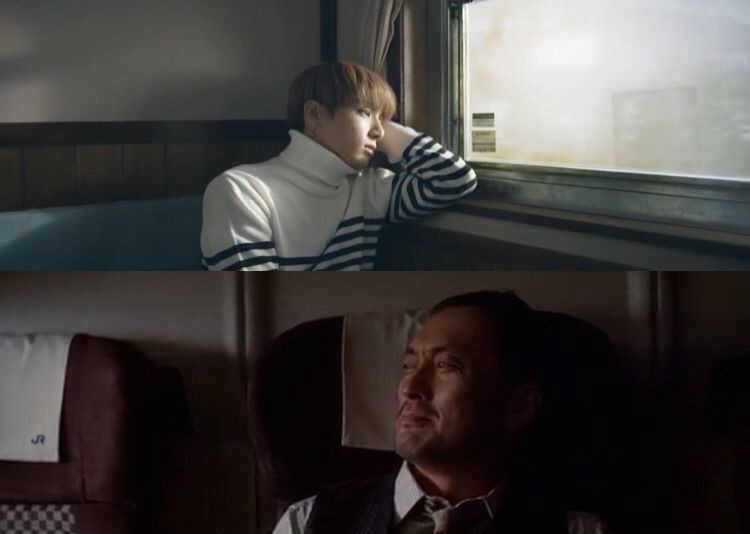 BTS Bangtan Inception film Theory Train Spring Day