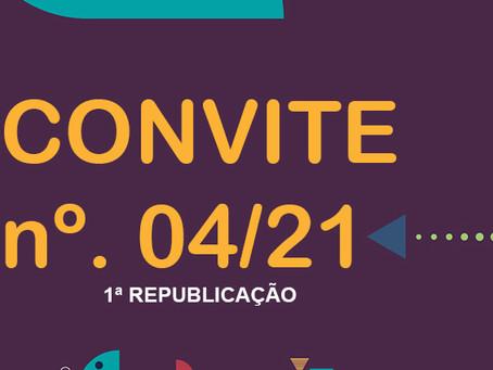 Convite nº. 04/2021