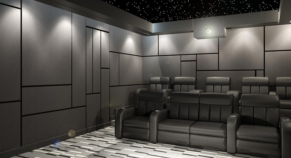 Sinema Salonu Ses Yalıtım Çalışmamız