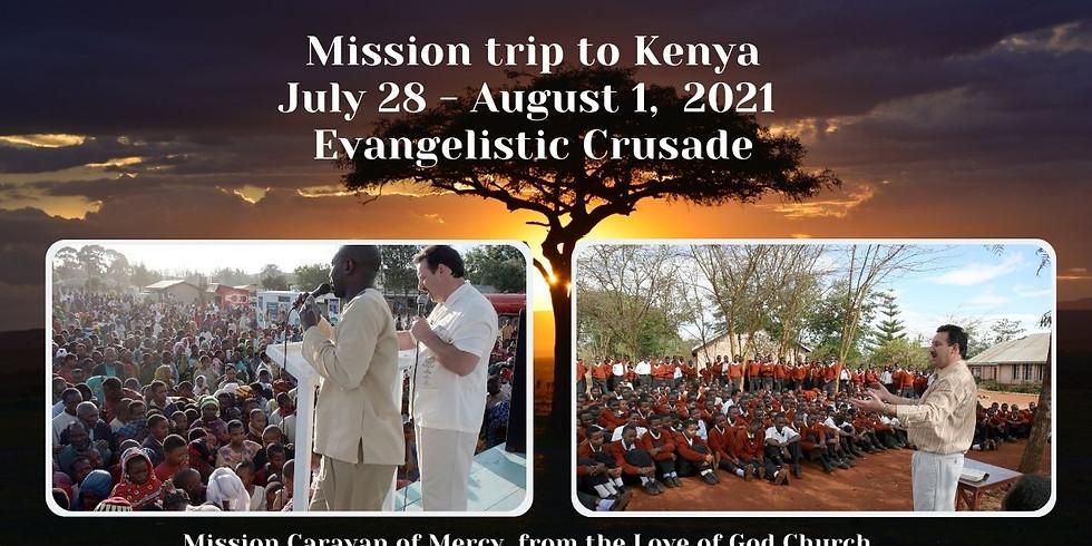 Mission trip to Kenya