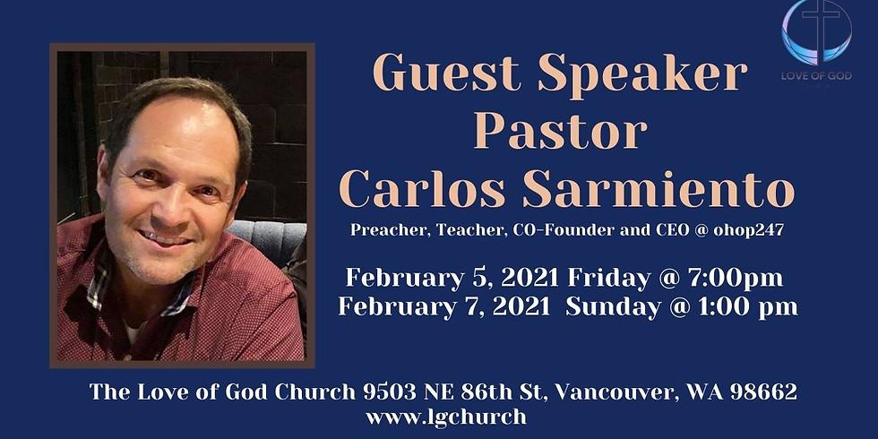 Guest Speaker Carlos Sarmiento