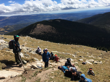High School and Middle School Backpacking Trip