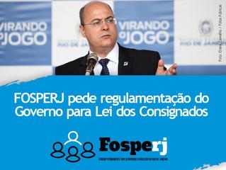 FOSPERJ pede regulamentação do Governo para Lei dos Consignados
