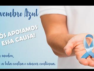 Novembro Azul - Nós Apoiamos essa Causa!