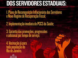 FOSPERJ INFORMA | 12/05/2021 FOSPERJ solicita audiência virtual com o governador Cláudio Castro