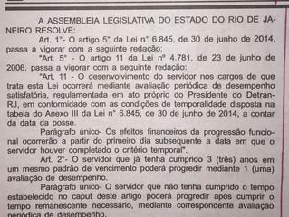 Projeto de Lei 4454/2018 - Alteração da progressão funcional