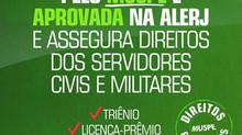 Emenda Assegura Direitos dos Servidores