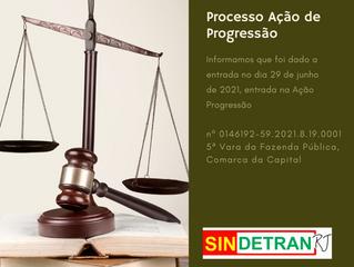 Processo Ação de Progressão