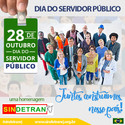 A todos(as) os Servidores Públicos nossa homenagem.