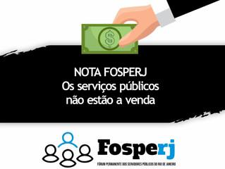 Nota do FOSPERJ - 23/04/2020