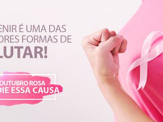 Outubro Rosa - Nós Apoiamos essa Causa!