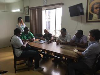 Resumo: Reunião com Agentes de Fiscalização