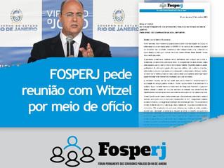 FOSPERJ pede reunião com Witzel por meio de ofício