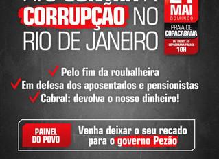 Convocação: Ato Contra a Corrupção