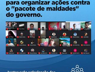 """BASTA! 📣 FOSPERJ reúne entidades para organizar ações contra o """"pacote de maldades"""" do governo"""