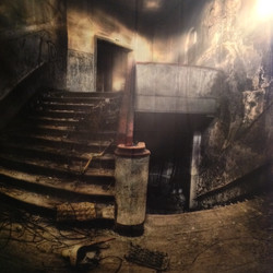 ABANDONED STAIRCASE 8' X 8'