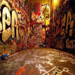 GRAFFITI ALLEY 8' X 8'
