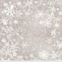 SNOWFLAKES 10' X 10'