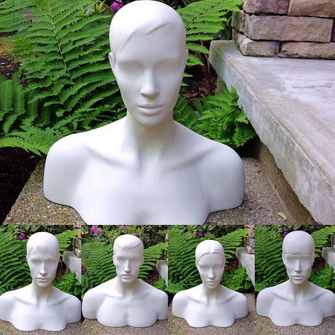 WHITE BUST FORMS