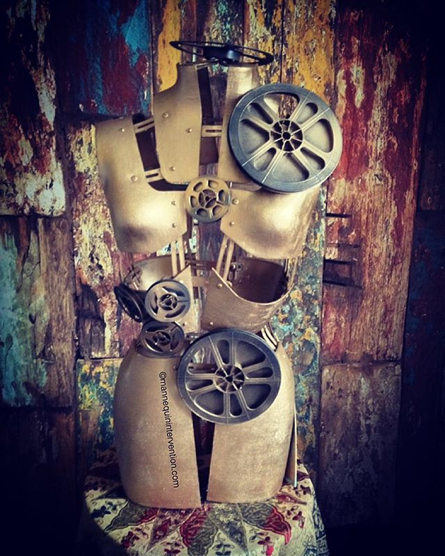 #mannequin #steampunk #art #ig_daily #instaart #mystyle #film #propstyling #manekin #dressform #inst