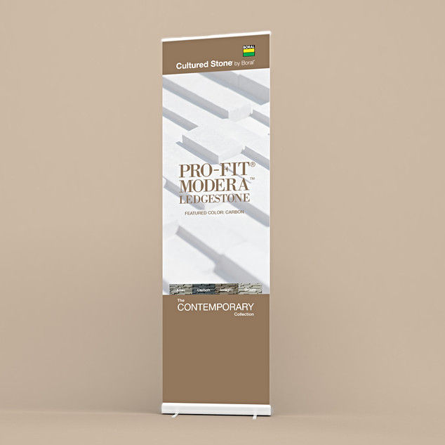 THE CONTEMPORARY COLLECTION BANNERS