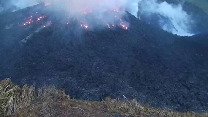 Volcano Erupts in Southern Caribbean