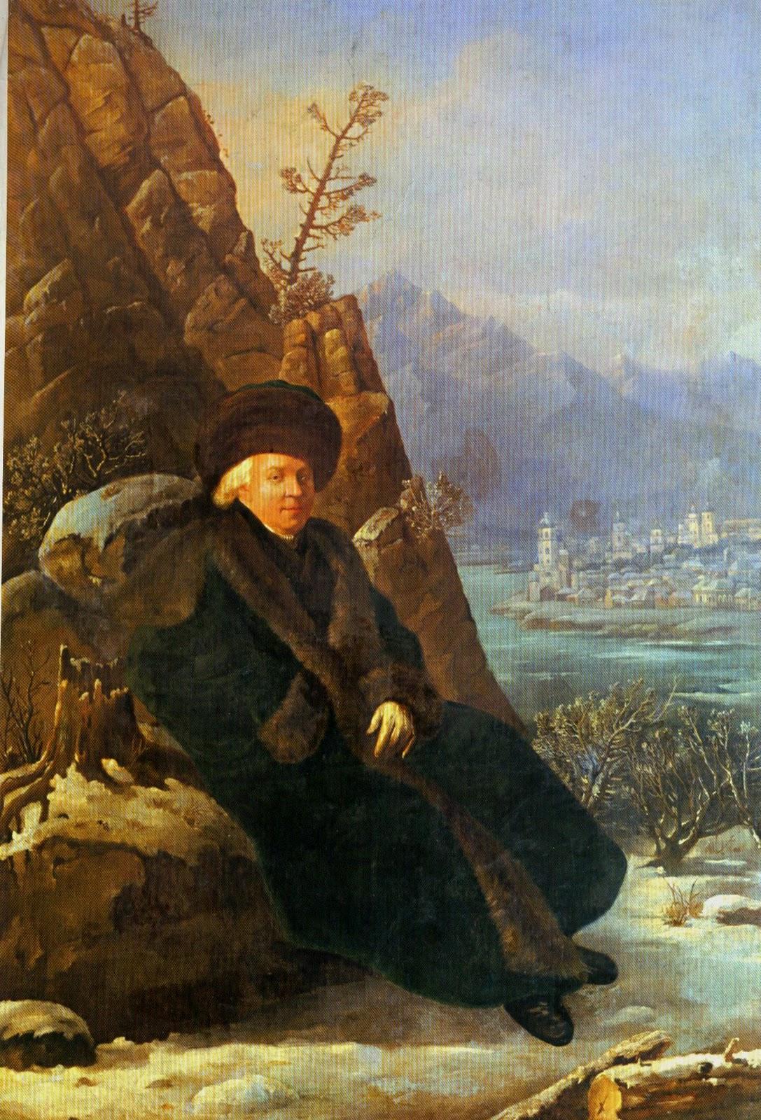 Тончи С. 1800 Портрет поэта Г.Р. Державина_1