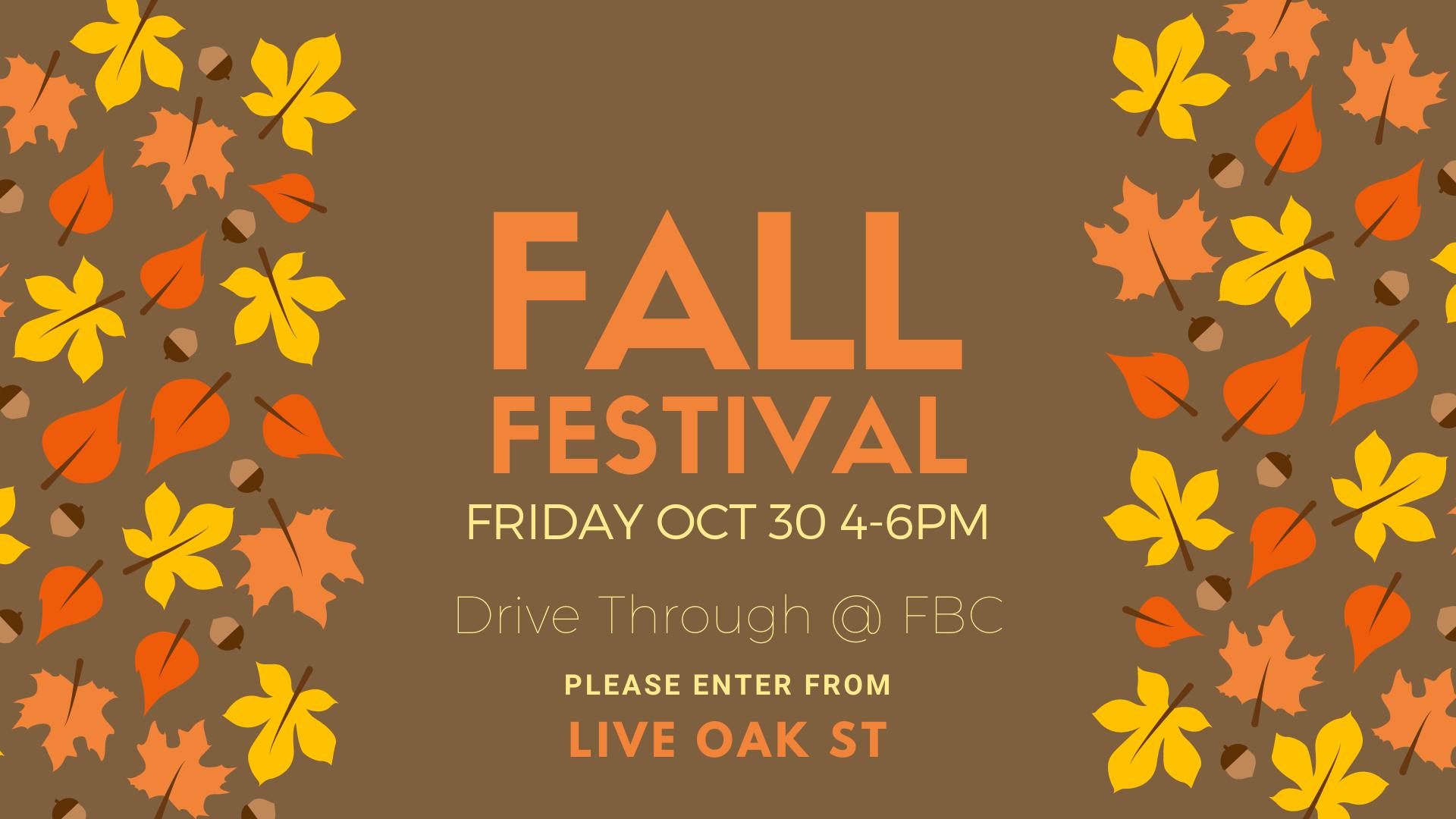 Orange Fall Festival Facebook Event Cove