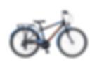 Kinderfiets Oxford, fiets voor eerste communie, lentefeest of vormsel
