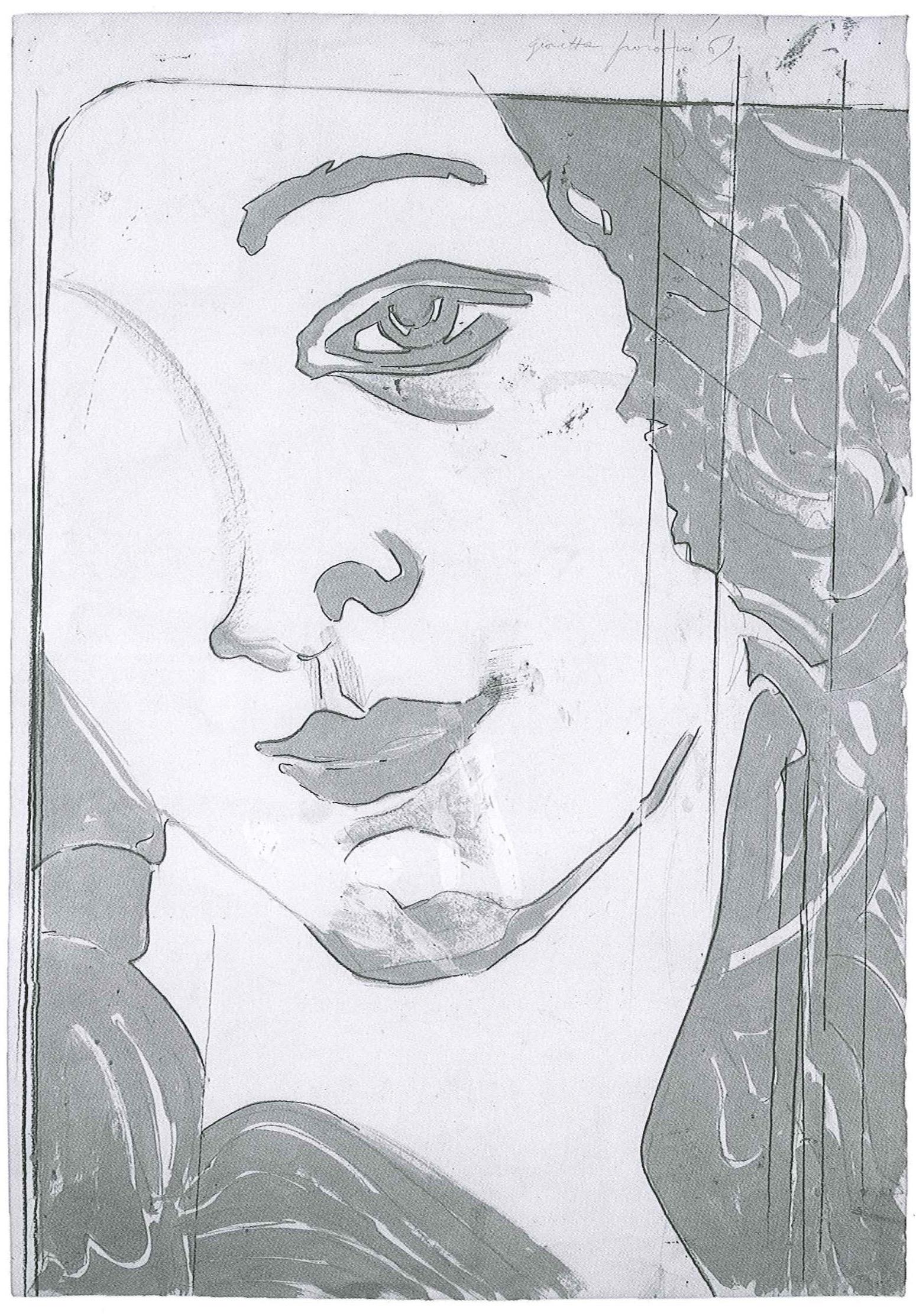 Giosetta Fioroni - carta d argento_Pagin