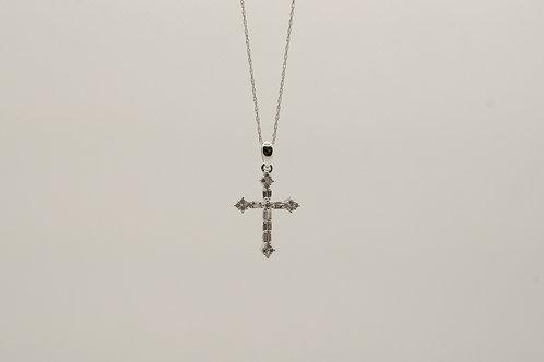 Diamond Cross Pendant 0.28cts