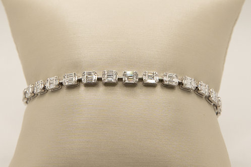 Diamond Tennis Bracelet 3.02cts