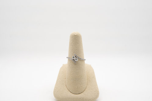 Diamond Two-Stone Ring 0.49cts