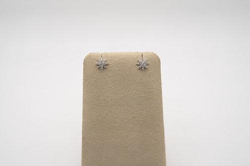 Diamond Stars Earrings 0.20cts