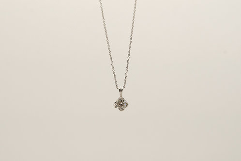 Diamond Solitaire Pendant 0.67cts