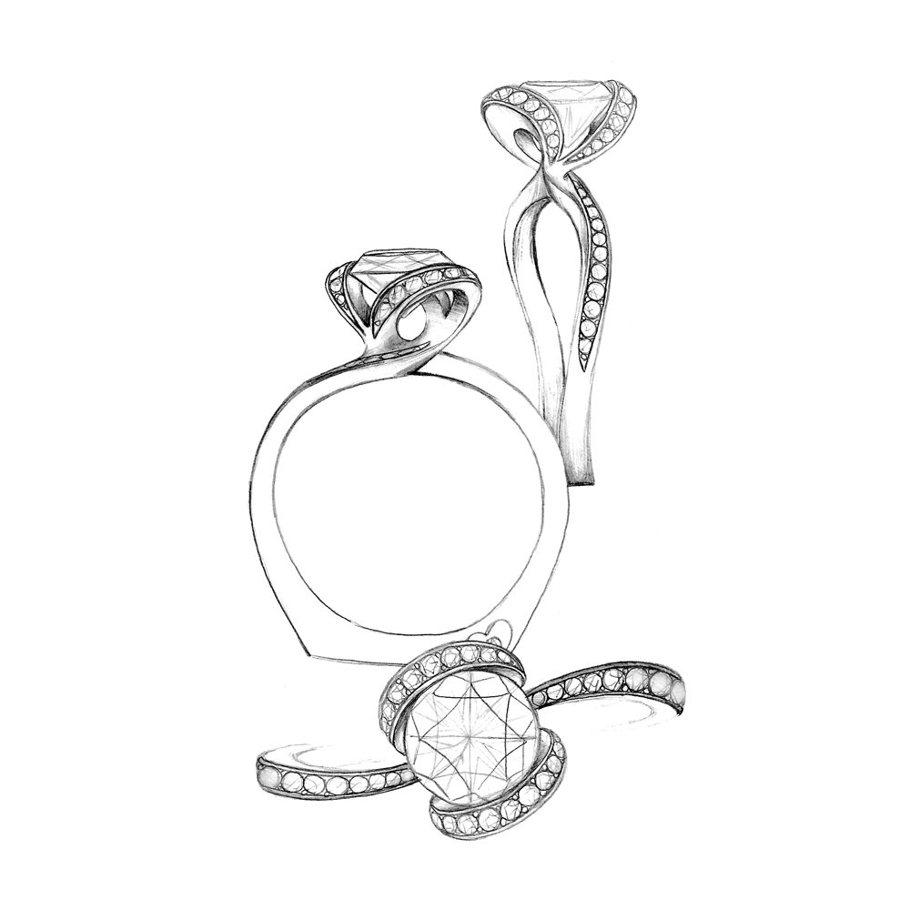 Creating an Engagement Ring