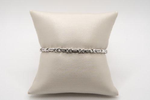 Diamond Fancy Link Bracelet 0.51cts