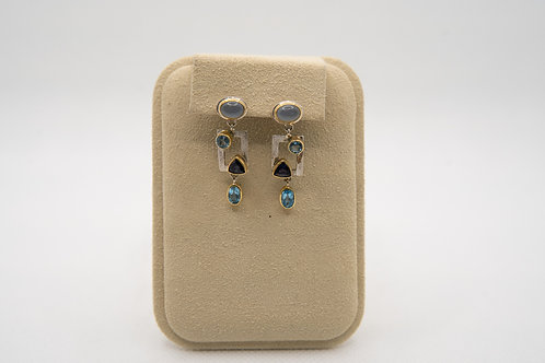 MICHOU Multi-Color Earrings
