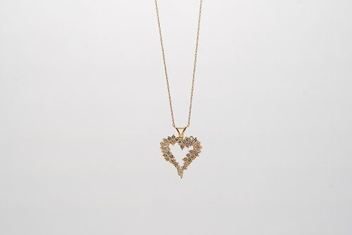 Diamond Heart Pendant 1.00cts