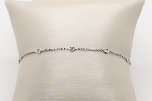 "Diamond Bracelet ""By the Yard"""
