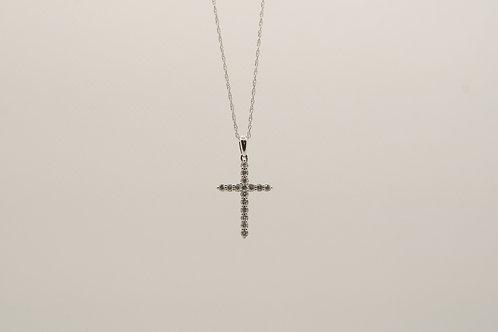 Diamond Cross Pendant 0.26cts
